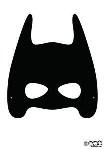バットマンマスクブラック